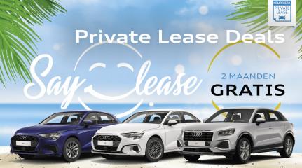 Private Lease modellen Audi