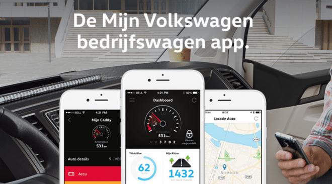 Mijn Volkswagen Bedrijfswagens App
