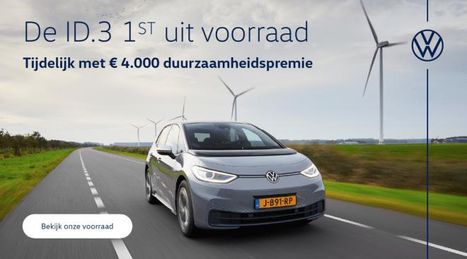 Volkswagen ID.3 duurzaamheidspremie Wealer