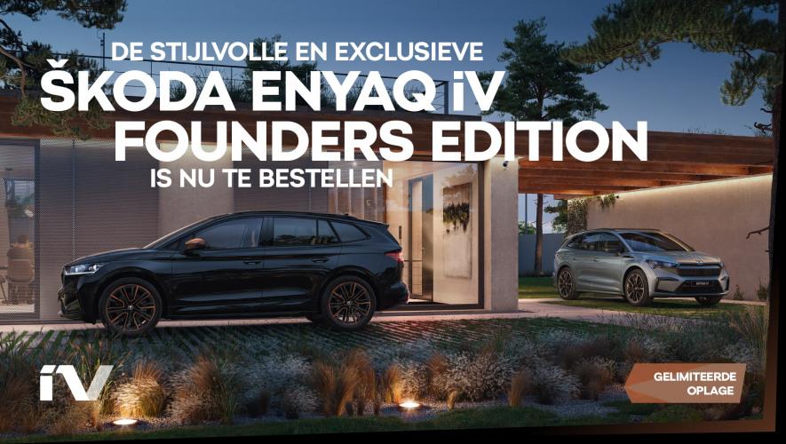 SKO1840-01 ENYAQ iV Founders Edition - nu te bestellen - banner - 1920x1080px V3