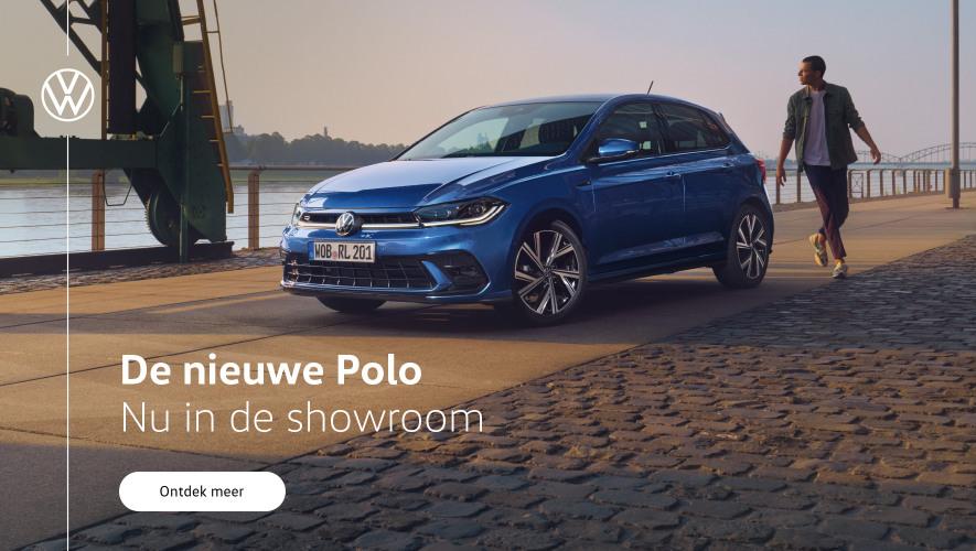 Banner de nieuwe Volkswagen Polo